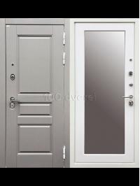 Входная дверь Лондон 3К с зеркалом