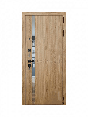 Металлическая дверь Tesla Дуб Мелфорд Софт LW