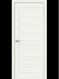 Дверь ЭкоШпон-21 3D White Mix