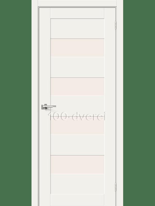 Дверь ЭкоШпон-23 3D White Mix