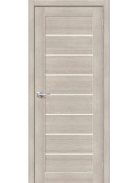 Дверь ЭкоШпон-22 3D Капучино