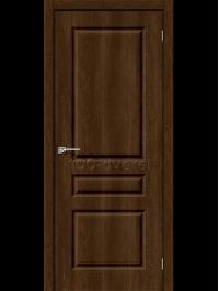 Дверь Скинни 14 ДГ Dark Barnwood