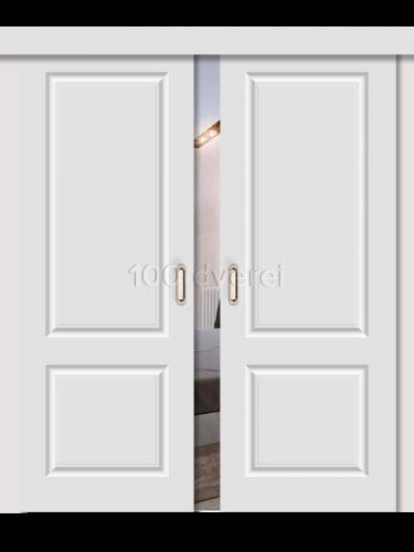 Двойная раздвижная дверь Скинни 12