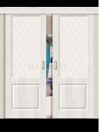 Двойная раздвижная дверь Скинни 13
