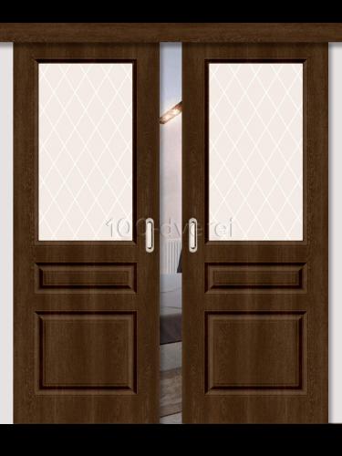 Двойная раздвижная дверь Скинни 15