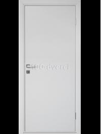 Межкомнатная влагостойкая дверь WPC Белая
