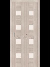 Межкомнатная дверь Книжка ЭкоШпон 23