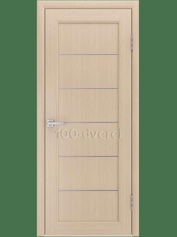 Дверь Модерн 3 Беленый дуб ДГ