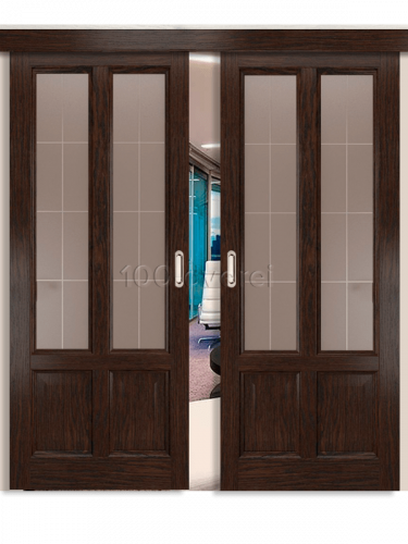 Двойная раздвижная дверь Титан 3