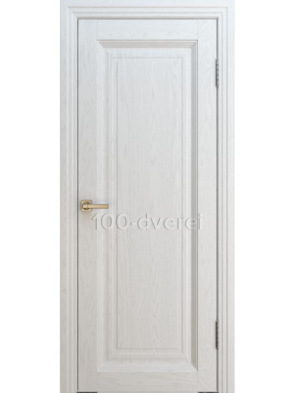 Дверь ТУРИН Багет 2 ДГ ЯСЕНЬ БЕЛЫЙ
