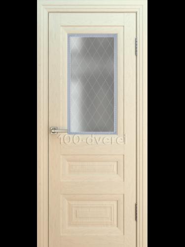 Дверь ВЕНЕЦИЯ Багет 1 ДО 8 ЯСЕНЬ АЙВОРИ