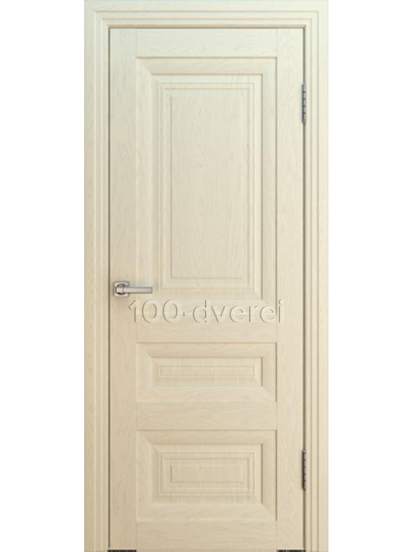 Дверь ВЕНА БАГЕТ 1 ДГ ЯСЕНЬ АЙВОРИ