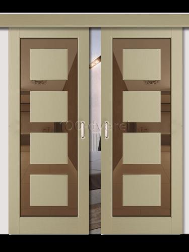 Двойная раздвижная дверь Neo 1