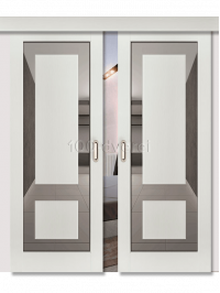 Двойная раздвижная дверь Neo 3