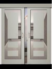 Двойная раздвижная дверь Neo 5
