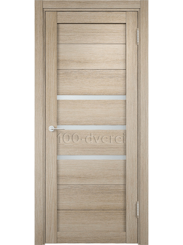 Межкомнатные двери Мюнхен-01 Дуб Дымчатый