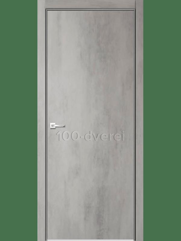 Межкомнатная дверь Севилья 26 Бетон Светлый