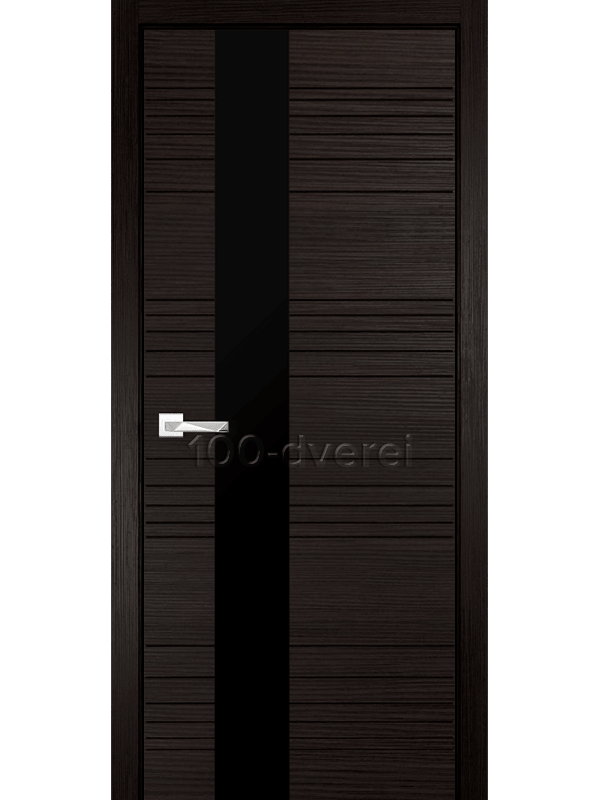 Межкомнатные двери Новелла 1 Венге