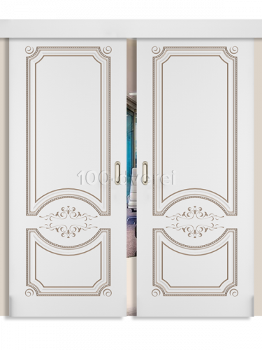 Двойная раздвижная дверь Милана