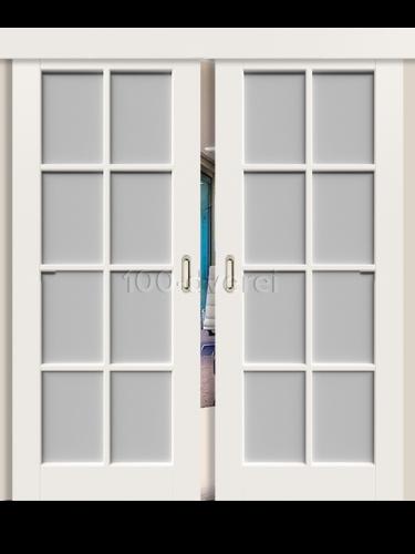 Двойная раздвижная дверь Порта
