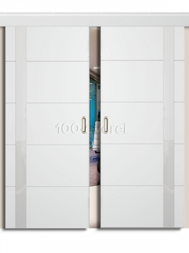 Двойная раздвижная дверь Тривиа