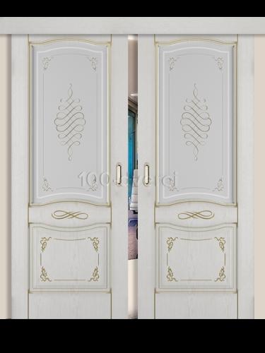 Двойная раздвижная дверь Веста