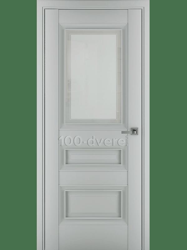 Межкомнатная дверь Ампир В1 ДО Матовый Серый