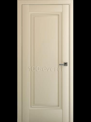 Межкомнатная дверь Неаполь В1 ДГ Матовый Крем