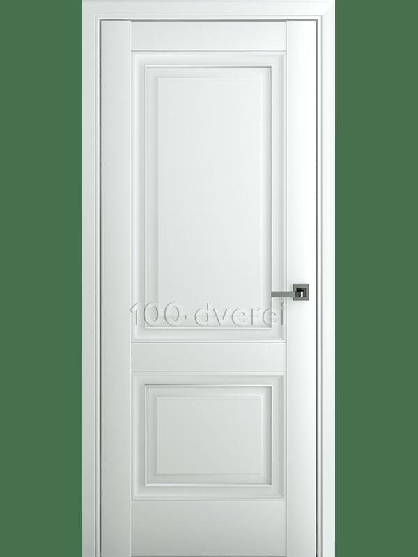 Межкомнатная дверь Венеция В1 ДГ Матовый Белый