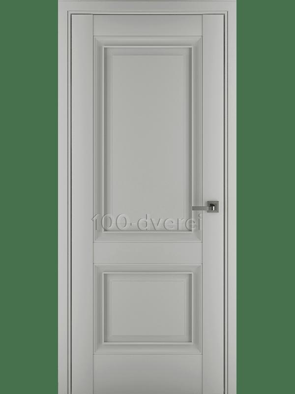 Межкомнатная дверь Венеция В1 ДГ Матовый Серый