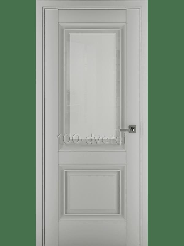 Межкомнатная дверь Венеция В1 ДО Матовый Серый