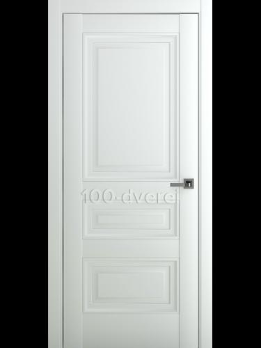 Межкомнатная дверь Ампир В2 ДГ Матовый Белый