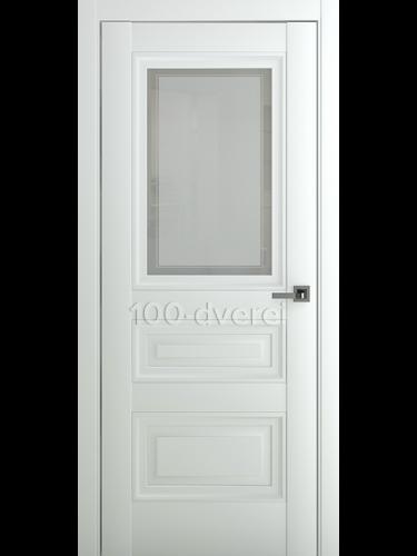 Межкомнатная дверь Ампир В2 ДО Матовый Белый