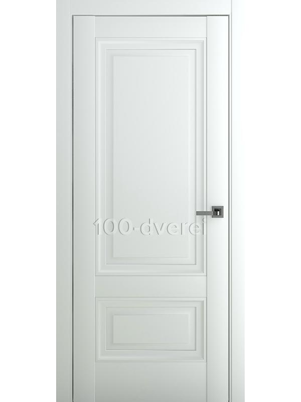 Межкомнатная дверь Турин В2 ДГ Матовый Белый