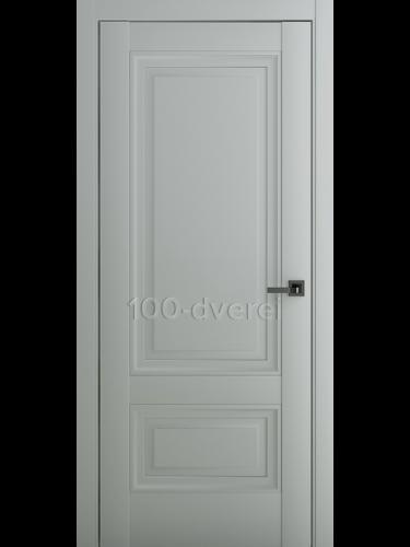 Межкомнатная дверь Турин В2 ДГ Матовый Серый