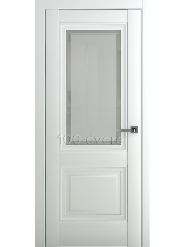 Межкомнатная дверь Венеция В2 ДО Матовый Белый