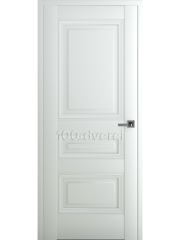 Межкомнатная дверь Ампир В3 ДГ Матовый Белый