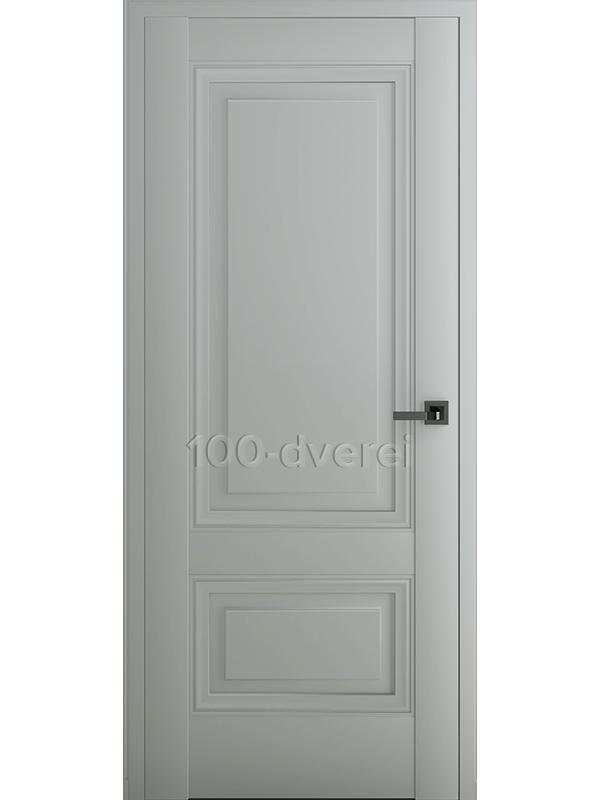 Межкомнатная дверь Турин В3 ДГ Матовый Серый