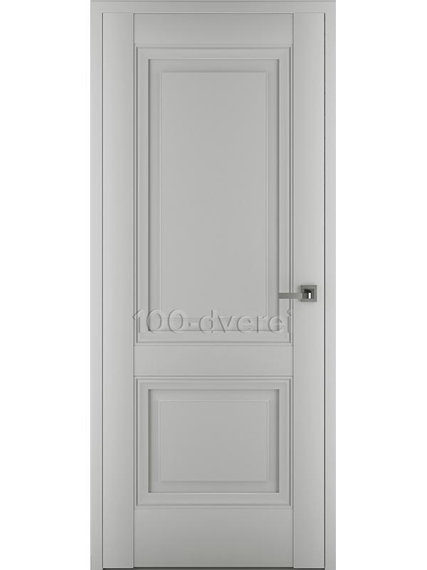 Межкомнатная дверь Венеция В3 ДГ Матовый Серый