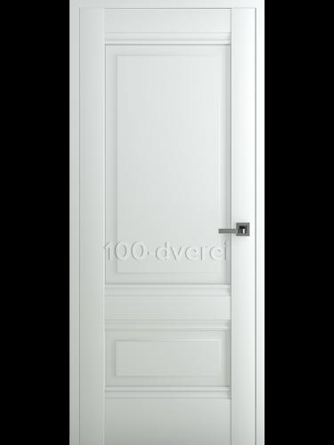 Межкомнатная дверь Турин В4 ДГ Матовый Белый