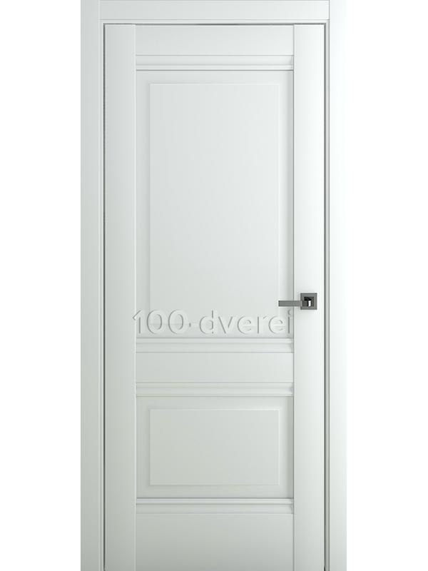 Межкомнатная дверь Венеция В4 ДГ Матовый Белый