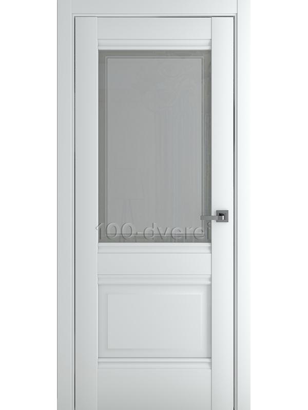 Межкомнатная дверь Венеция В4 ДО Матовый Белый