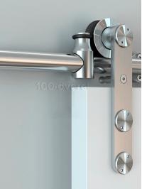 Амбарный механизм Раздвижная дверь AMH-2512 (нержавеющая сталь)