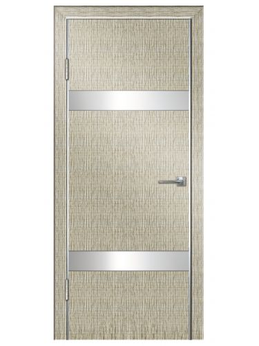Межкомнатная дверь 502 Серый дуб б/с