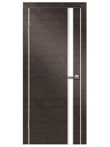 Межкомнатная дверь 507 Венге поперечный б/с