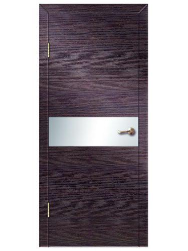 Межкомнатная дверь 501 Венге поперечный б/с