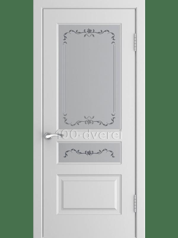 Дверь L-2 со стеклом
