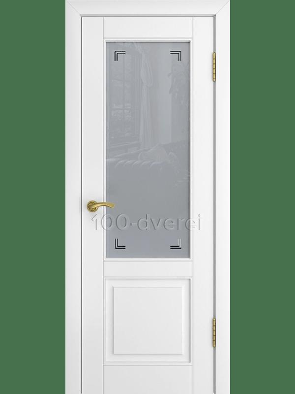 Дверь L-5 со стеклом