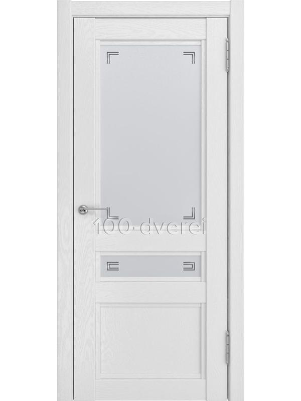 Межкомнатная дверь К-2 ДО Белый снег