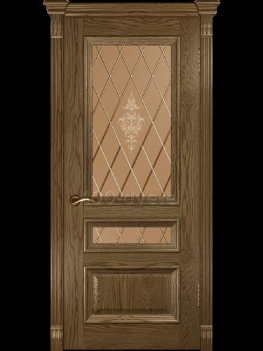 Дверь Фараон 2 (со стеклом)